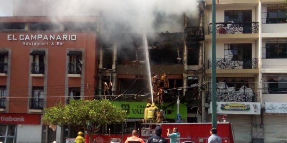 Suman cuatro muertos en Tepatitlán, Jalisco, tras explosión de gas