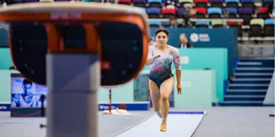 Alexa Moreno cierra 2019 como la tercera mejor en salto