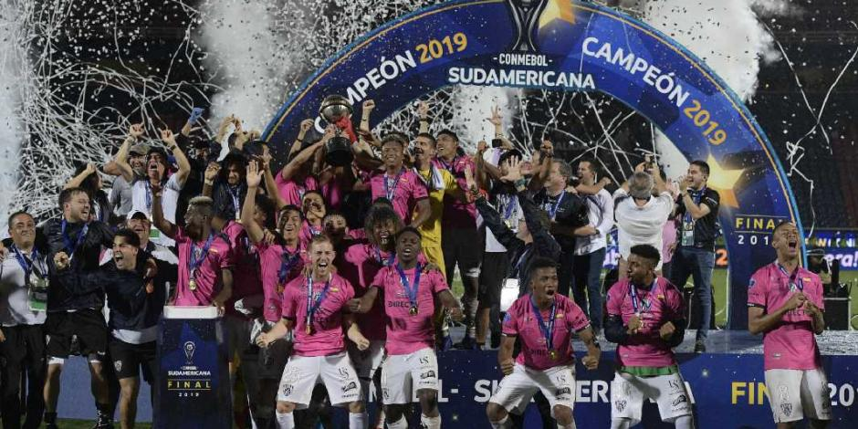 Independiente del Valle gana primer título de Copa Sudamericana