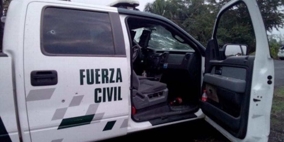 Comando embosca a policías en Veracruz; hay un muerto y dos heridos