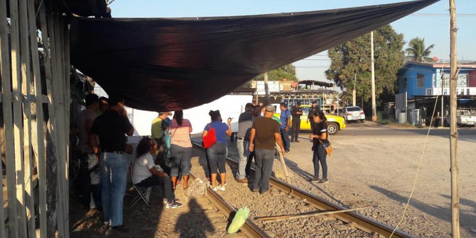 Acuerda CNTE levantar bloqueos en vías ferroviarias en Michoacán