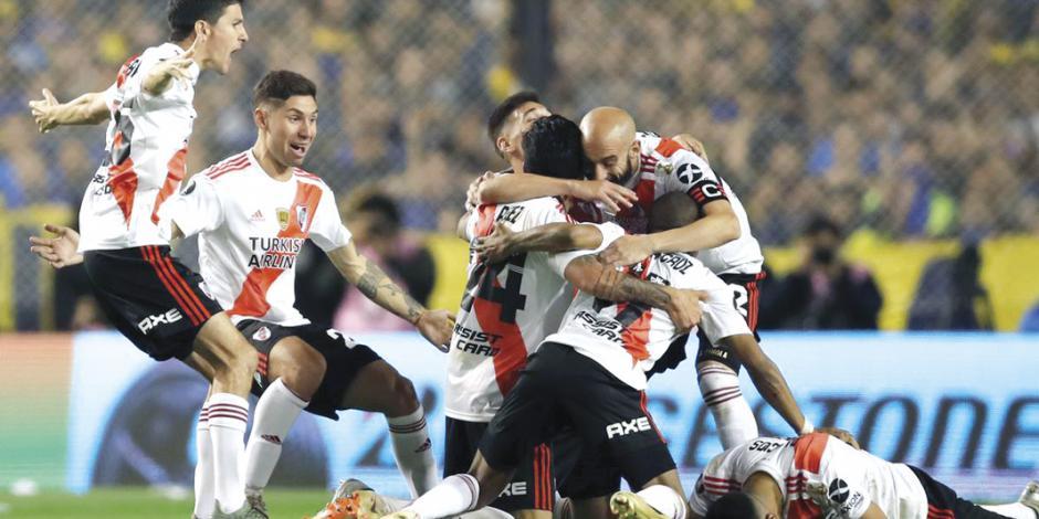 River Plate va por su quinto título de Libertadores