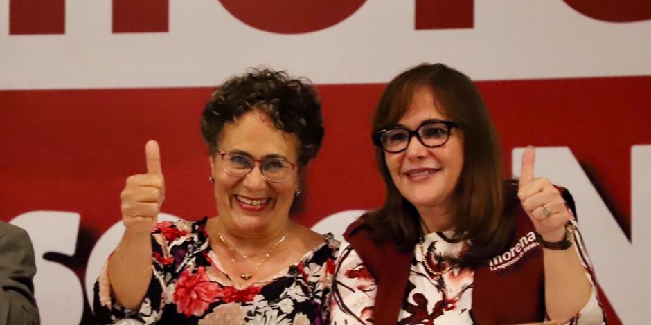 Morena, sin definir: Luján y Yeidkcol, a pactar método; pide Delgado encuesta