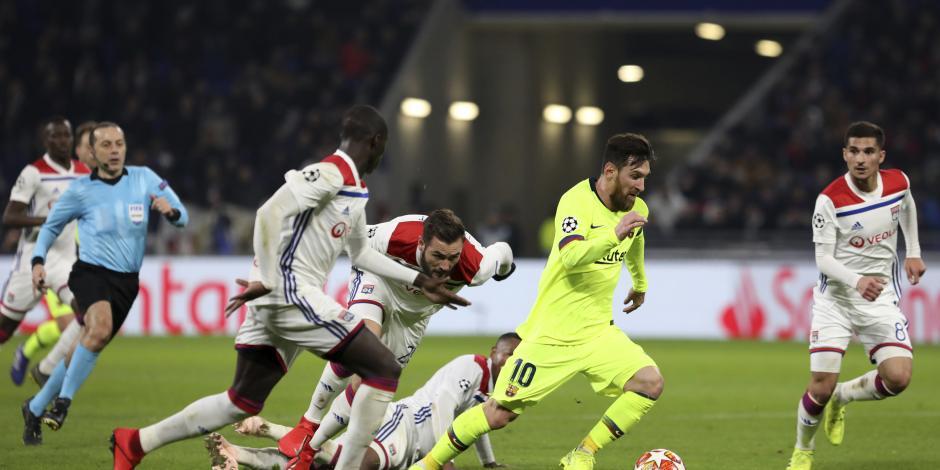 Lyon y Barcelona firman el 0-0 y dejan todo para la vuelta en España