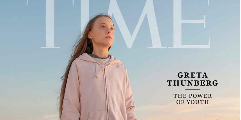 """Designan a la joven activista Greta Thunberg como """"Persona del Año"""""""