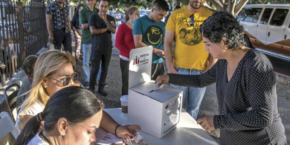 Consulta En Baja California: 69% Vota Por Gestion De 5 Anos