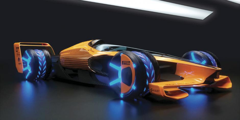 McLaren presenta MCLExtreme, auto del futuro en la F1
