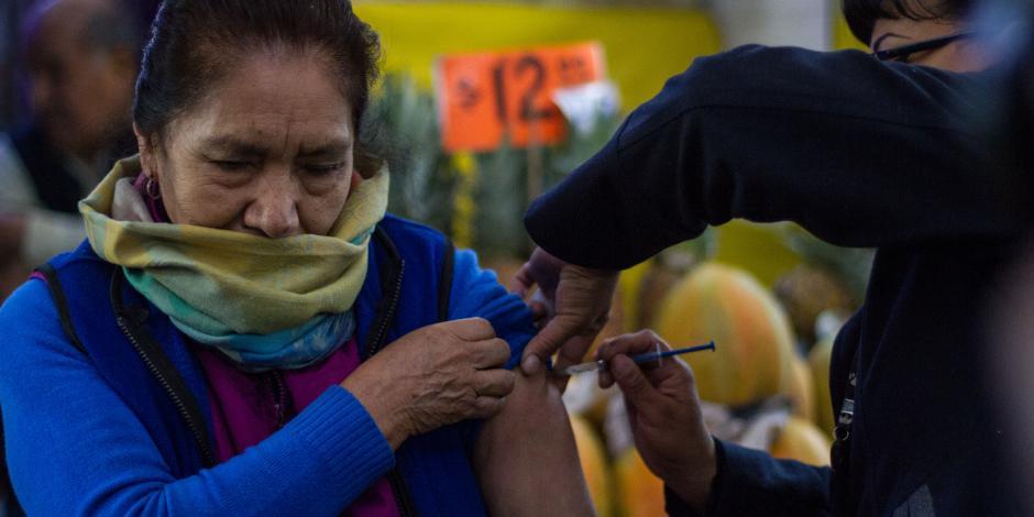Crece 276% muertes debido a la influenza