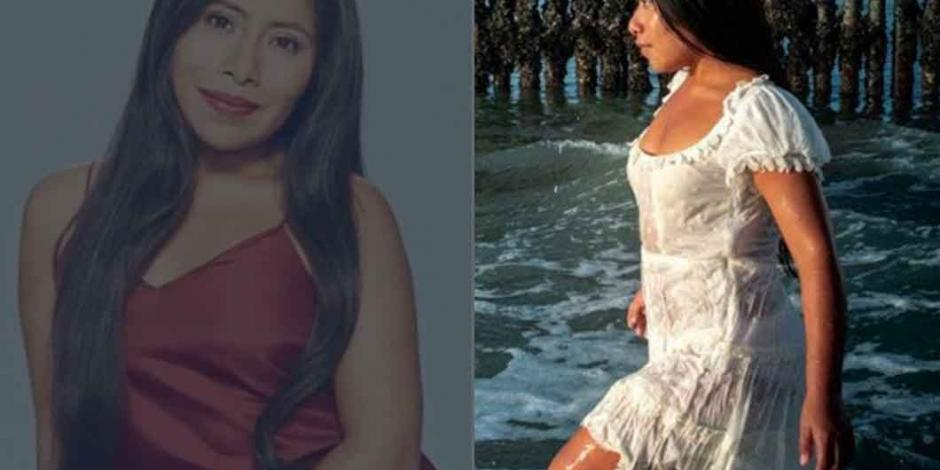 Yalitza Aparicio, con sexy bikini rojo, sorprende como nadadora en Xcaret