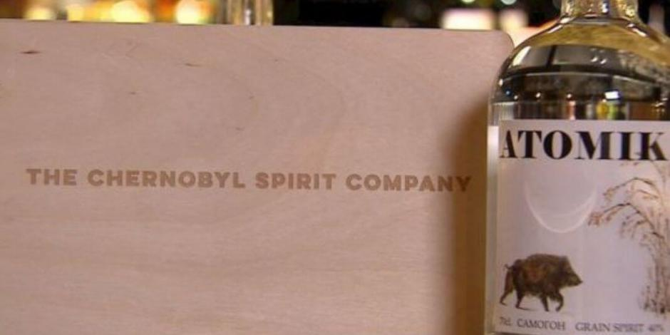 ¿Quieres un shot nuclear? Conoce el nuevo vodka hecho en Chernobyl
