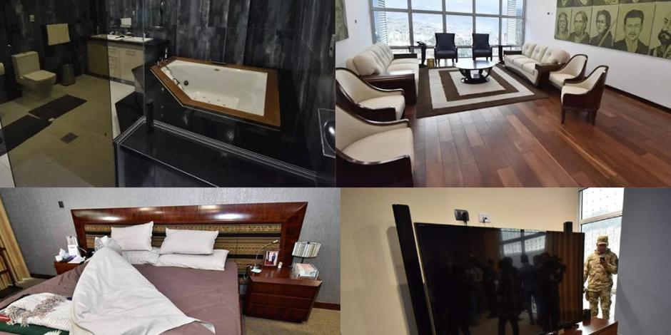 Esta es la suite presidencial que Evo se mandó construir (FOTOS)