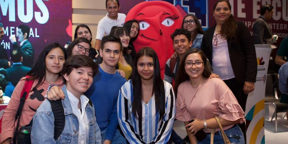 Gobierno de Michoacán lanza campaña contra enfermedades mentales