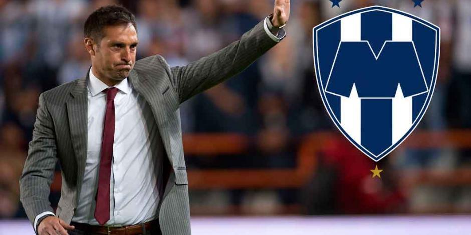 Monterrey cesa al técnico Diego Alonso tras derrota en el Clásico Regio