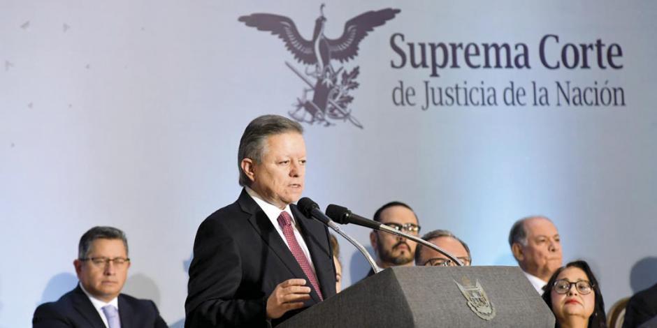Llama Arturo Zaldívar a garantizar la independencia del Poder Judicial