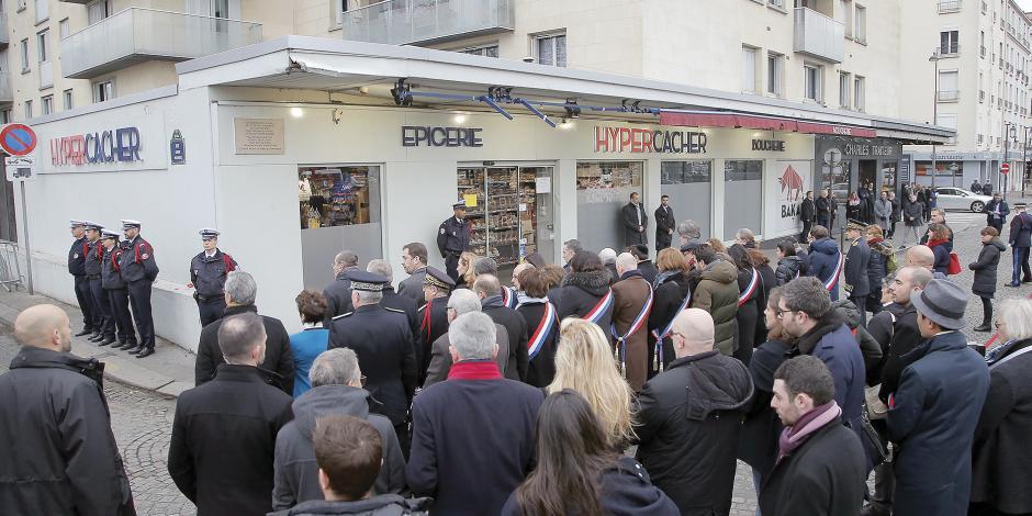 Recuerdan a víctimas, a 4 años de Charlie Hebdo
