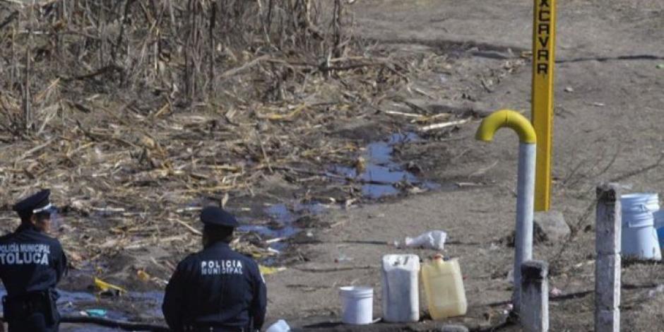 Detecta Marina 7 tomas clandestinas en ducto Tuxpan-Azcapotzalco
