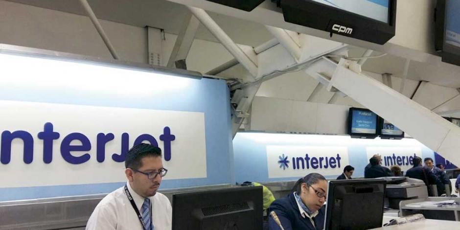 "Interjet desmiente estar en ""bancarrota técnica"""