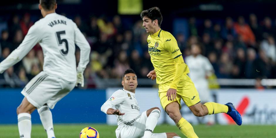 Real Madrid empata con Villarreal y deja escapar puntos