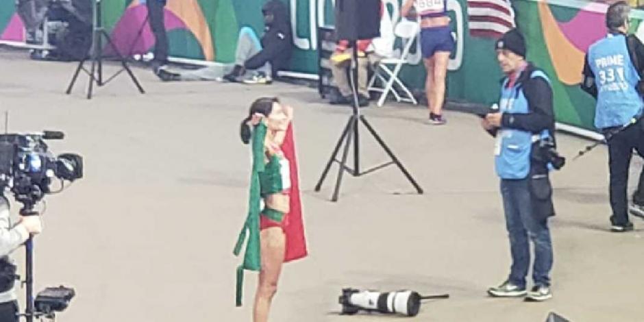 Atletismo vuelve a hacer sonreir a México, da oro 29 en Lima