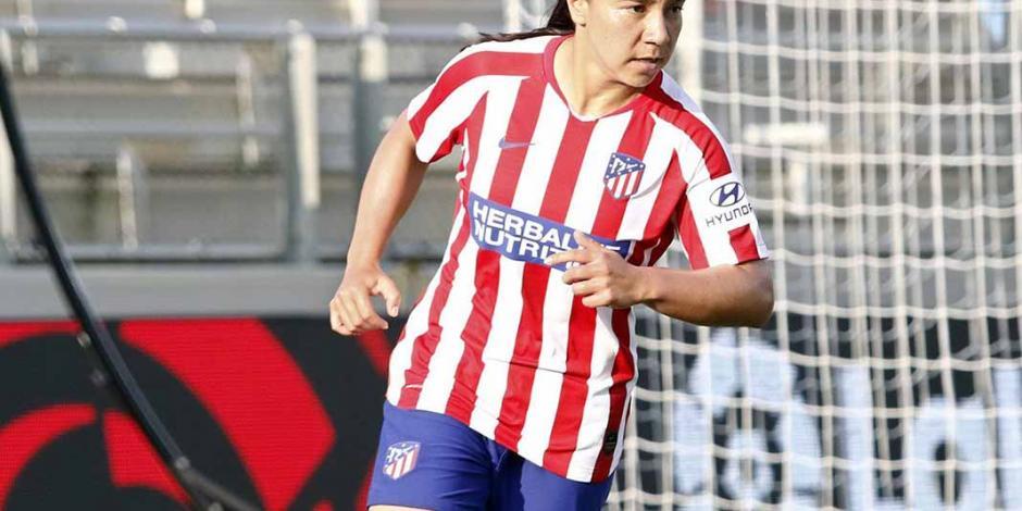 Charlyn Corral debuta con el Atlético de Madrid, y pierde