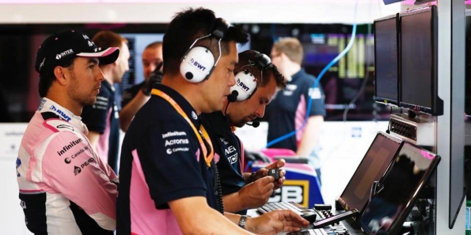 Sergio Pérez partirá en el lugar 16 en el Gran Premio de Canadá