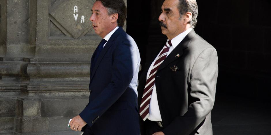 Llegan invitados a Palacio Nacional por Primer Informe de AMLO