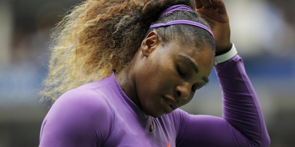 Serena Williams cae ante Bianca Andreescu en la final del US Open