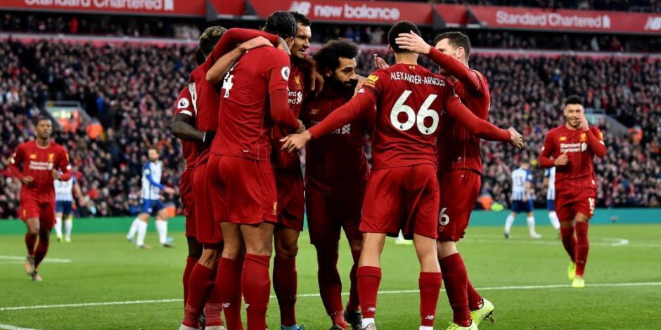 Liverpool gana y aventaja por 11 puntos al City en la Premier League