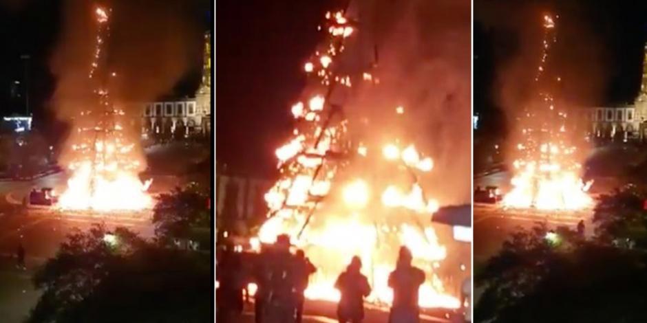 Arde-en-llamas-árbol-navideño-gigante-en-Zapopan-AN
