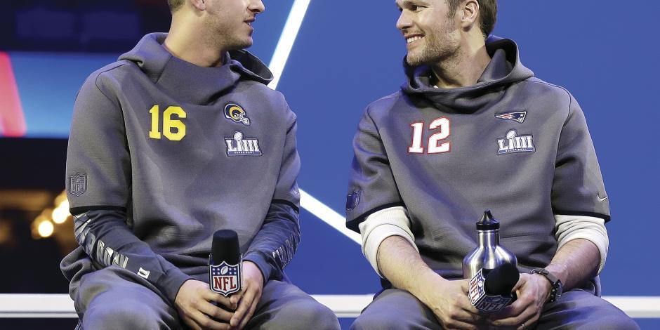 Rams y Patriots se halagan en el Opening Night