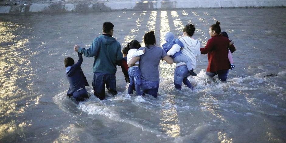 Ebrard: pedir pasaporte en la frontera no es hacer un muro