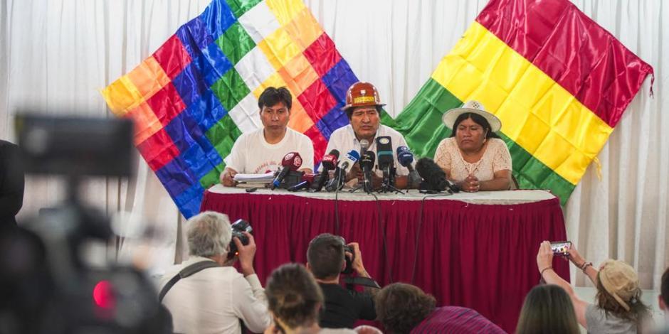 Evo Morales prepara