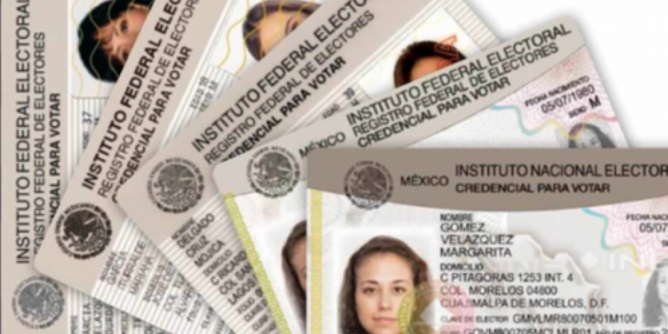 INE anuncia que nueva credencial de elector será más barata