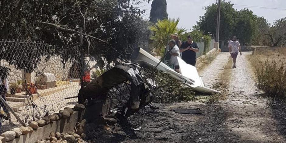 Choque entre helicóptero y avioneta deja 7 muertos en Mallorca