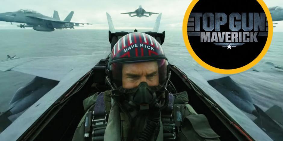 Lanzan trailer de Top Gun: Maverick, la nueva película de Tom Cruise