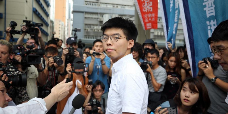 Hong Kong libera a líder del movimiento prodemocrático de 2014