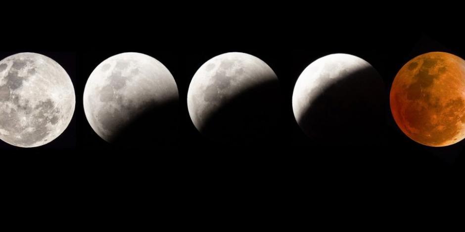 Eclipse lunar, Superluna y Luna de Sangre