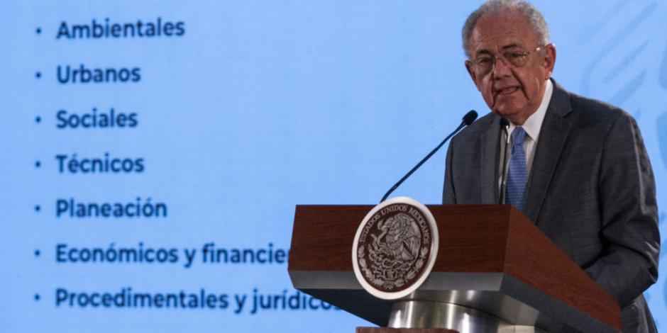 Podrían dar avances de caída de helicóptero en Puebla: Jiménez Espriú