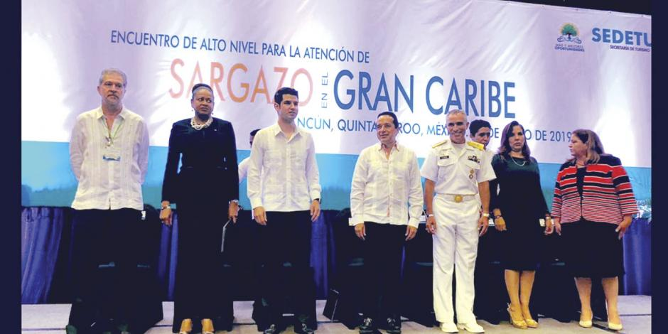 Contra el sargazo piden cooperación internacional