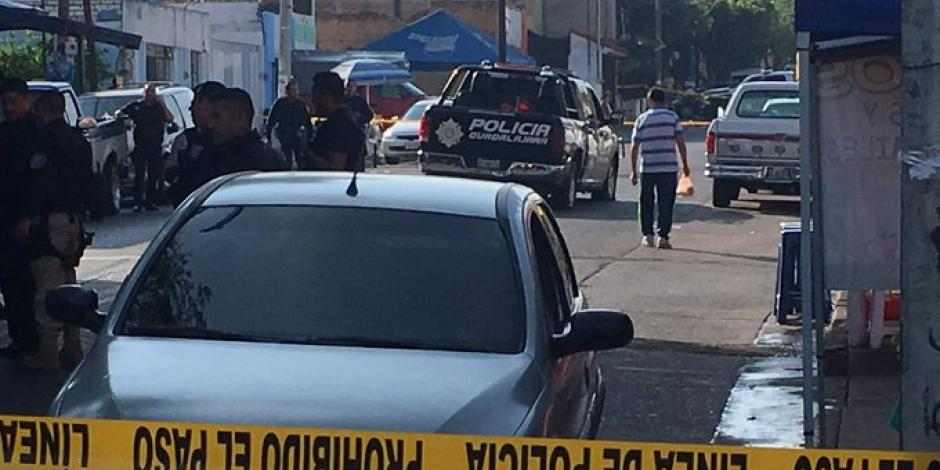Reportan balacera contra policías de Guadalajara; hay 3 lesionados