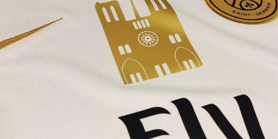 PSG jugará con jersey especial por tragedia en Catedral de Notre Dame