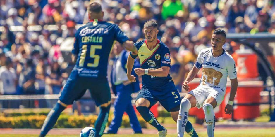 Pumas rompe hegemonía del América; gana 1-0 en CU