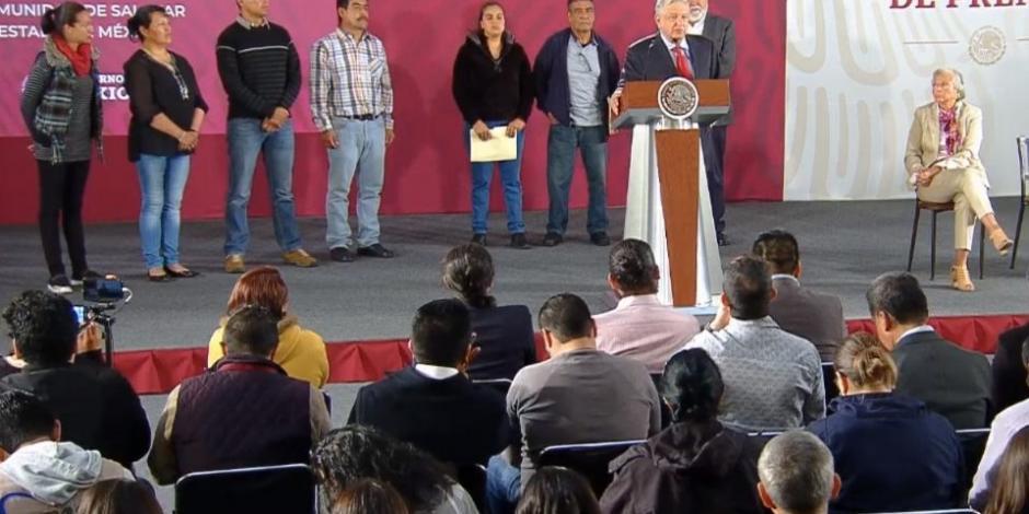 Segob revisará casos de personas injustamente presas, adelanta el Presidente de México