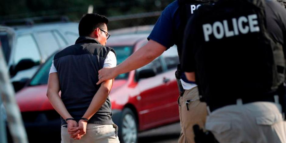 Aumenta en EU 114% arresto de migrantes