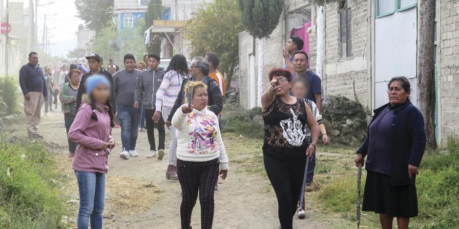 """Chalco: 4 horas de tensión en """"cacería"""" de presunto asesino"""