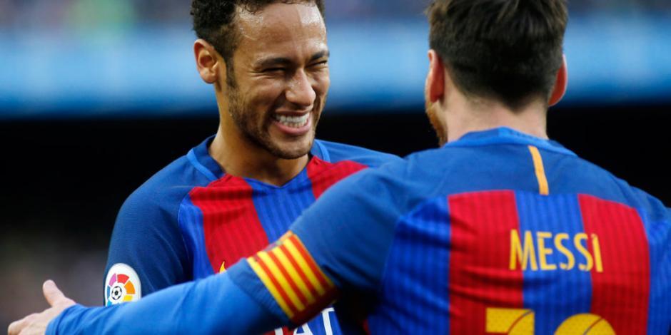 Messi le pidió a Neymar que regresara al Barcelona, según France Football