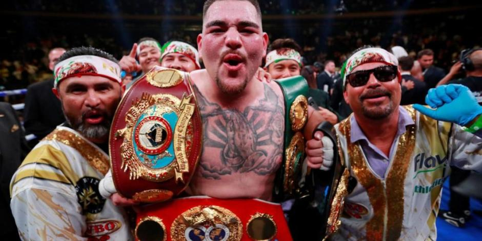 Andy Ruiz asegura que es más mexicano