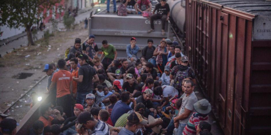 Piden cerco sanitario para migrantes en frontera; Segob lo descarta