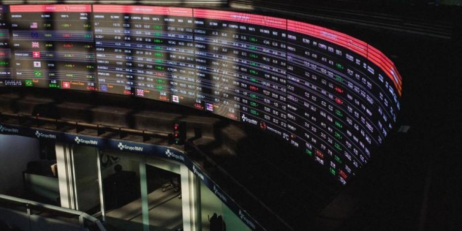Bolsa Mexicana de Valores inicia la jornada con pérdidas de 0.27%