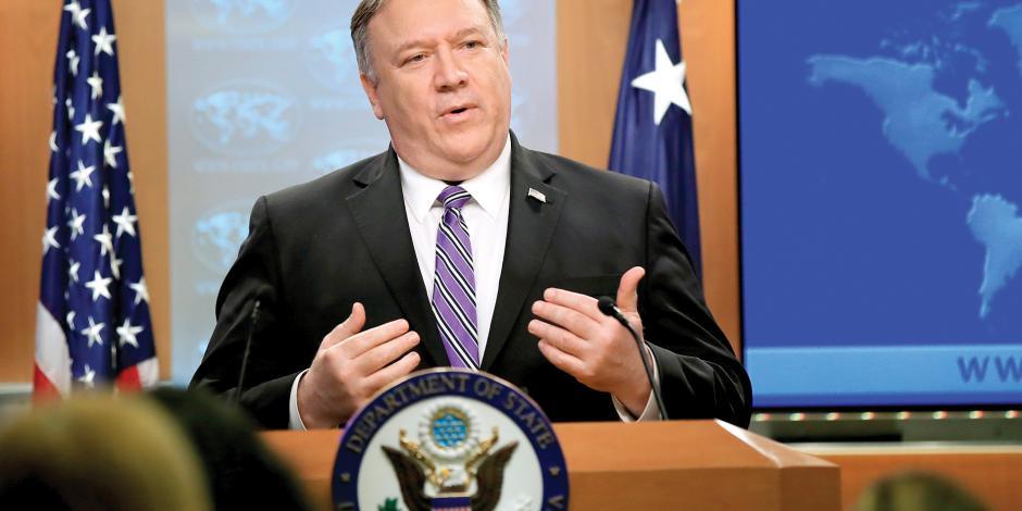 Estados Unidos entrega activos del régimen a la oposición
